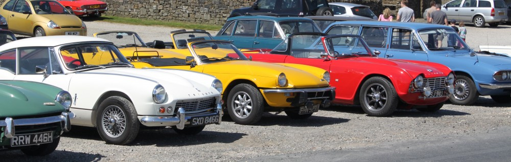 North Yrkshire Triumph Weekend